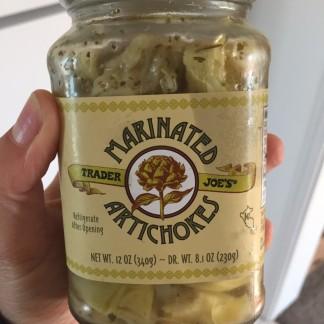 Vegan inspired artichokes