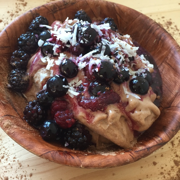 Vegan PB&J Ice cream